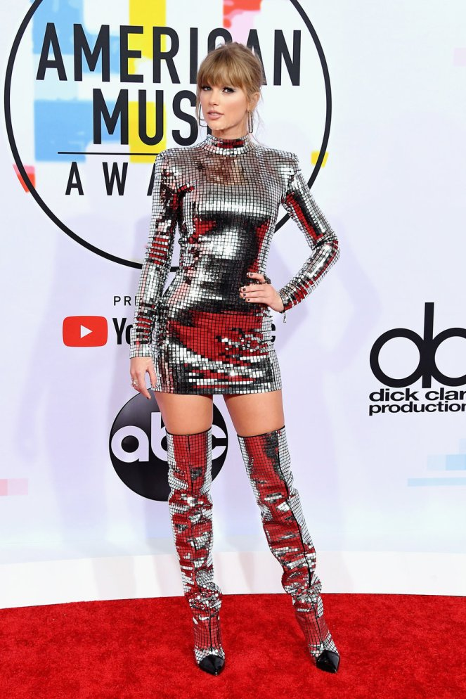 AMA's 2018, American Music Awards, Best Dressed, Red Carpet, Celebrity Style, Celebrity Fashion, Music Awards Fashion, Sarah In Style, Awards Show Fashions, Ashlee Simpson Ross, Amber Heard, Kelsea Ballerini, Constance Wu, Taylro Swift, Vanessa Hudgens
