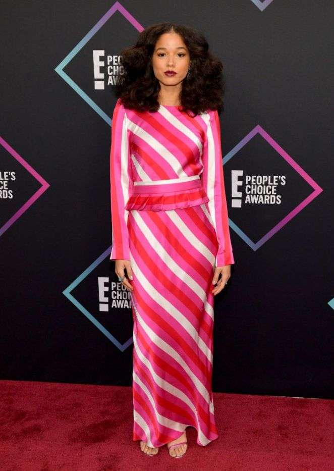 People's Choice Awards, Red Carpet, Best Dressed, Celebrity Style, What they wore, Red Carpet fashion, Sarah In Style, Sarah Meyer, Alisha Wainwright