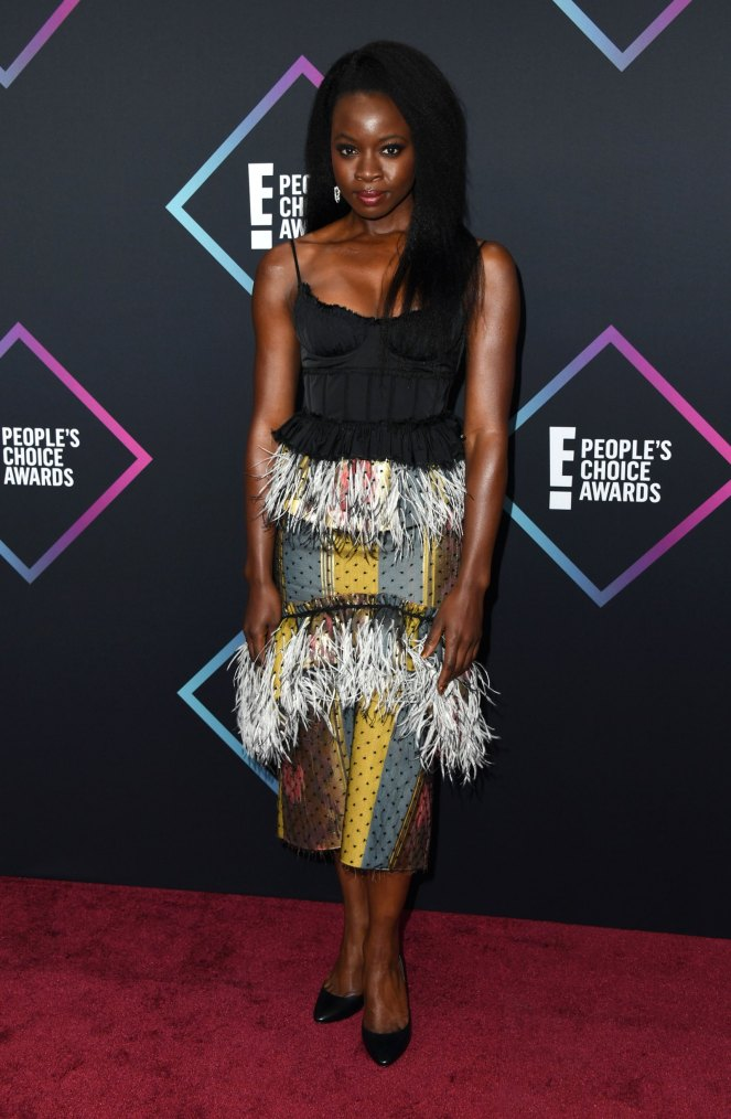 People's Choice Awards, Red Carpet, Best Dressed, Celebrity Style, What they wore, Red Carpet fashion, Sarah In Style, Sarah Meyer, Danai Gurira