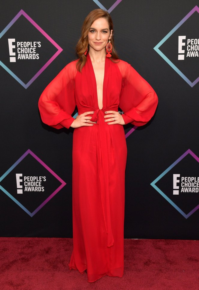 People's Choice Awards, Red Carpet, Best Dressed, Celebrity Style, What they wore, Red Carpet fashion, Sarah In Style, Sarah Meyer, melanie Scrofano