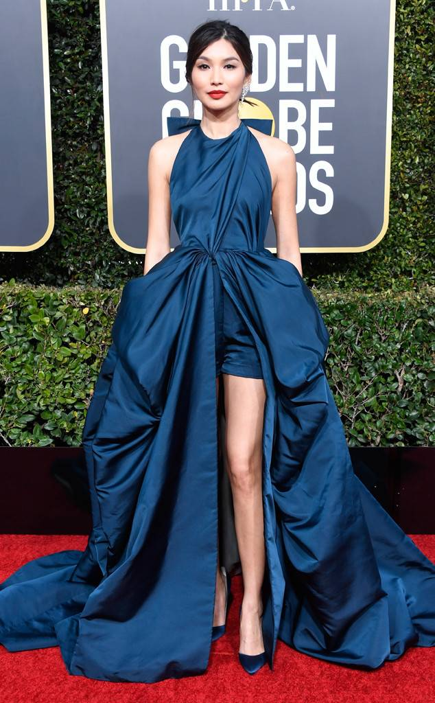 Gemma Chan, Golden Globes, Globes 2019, Golden Globes Best Dressed, Best Dressed 2019, Red Carpet, Red Carpet Fashion, Celebrity Best Dressed, Celebrity Fashion, Awards Season, What they Wore, On the red carpet, Celebrity style, Sarah In Style, Sarah Meyer, Celebrity looks, Beverly Hilton, awards show fashion