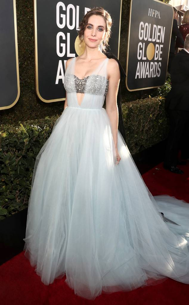 Alison Brie, Golden Globes, Globes 2019, Golden Globes Best Dressed, Best Dressed 2019, Red Carpet, Red Carpet Fashion, Celebrity Best Dressed, Celebrity Fashion, Awards Season, What they Wore, On the red carpet, Celebrity style, Sarah In Style, Sarah Meyer, Celebrity looks, Beverly Hilton, awards show fashion