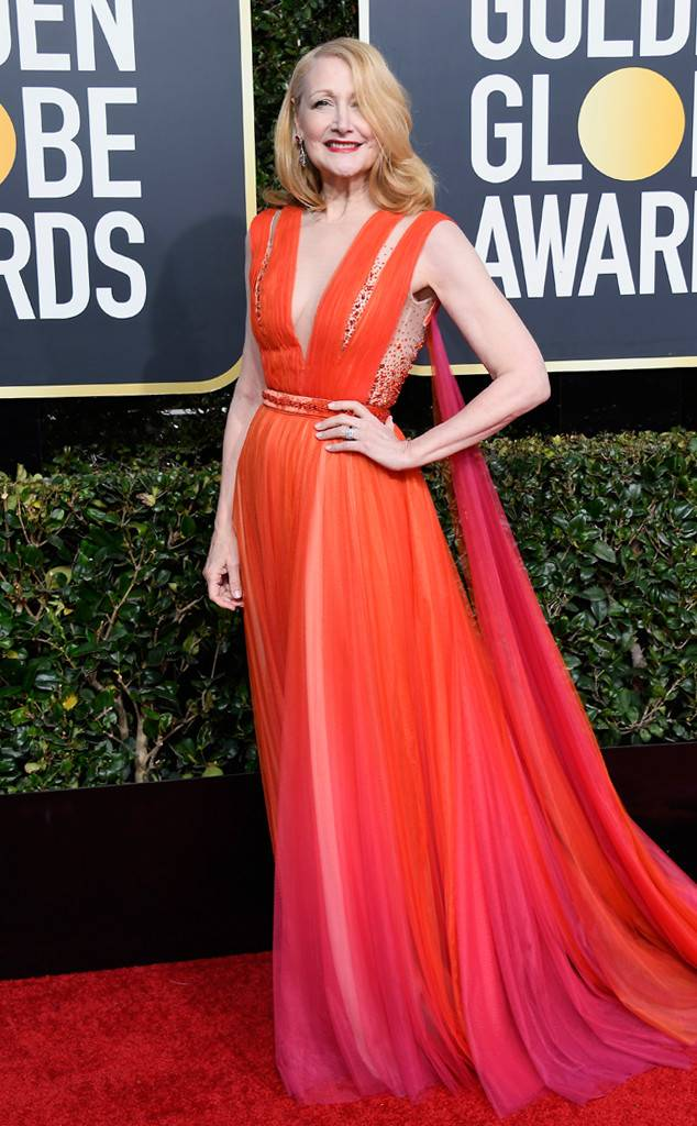 patricia clarkson, Golden Globes, Globes 2019, Golden Globes Best Dressed, Best Dressed 2019, Red Carpet, Red Carpet Fashion, Celebrity Best Dressed, Celebrity Fashion, Awards Season, What they Wore, On the red carpet, Celebrity style, Sarah In Style, Sarah Meyer, Celebrity looks, Beverly Hilton, awards show fashion