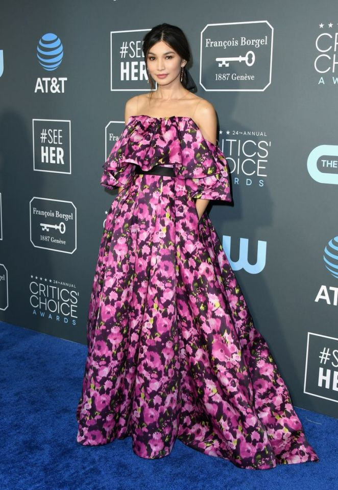 Critics Choice Awards 2019 Best Dressed Sarah In Style