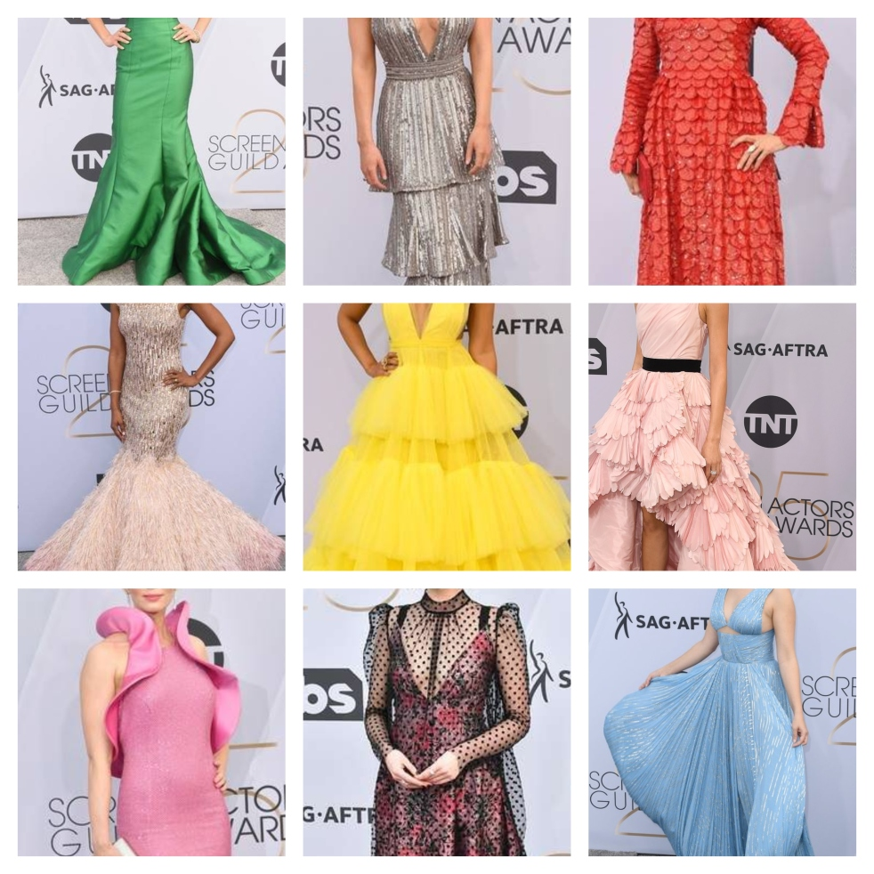 SAG AWARDS, SAG Awards Best Dressed, Screen Actors Guild, Screen Actors Guild Awards, Best Dressed 2019, Red Carpet, Red Carpet Fashion, Celebrity Best Dressed, Celebrity Fashion, Awards Season, What they Wore, On the red carpet, Celebrity style, Sarah In Style, Sarah Meyer, Celebrity looks, awards show fashion