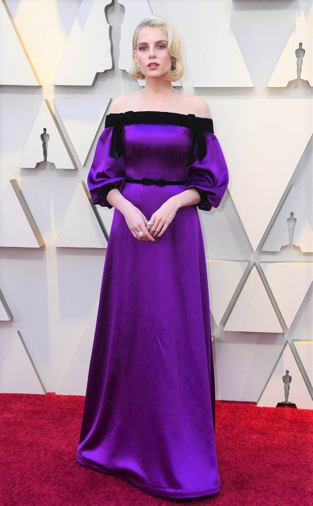 Lucy Boynton, 91st Academy Awards, Dolby Theater Hollywood, Oscars 2019, Academy Awards, Red Carpet, Oscars Red Carpet 2019, Best Dressed, Celebrity Fashion, On the red carpet, celebrity style, red carpet jewelry, most expensive jewelry at the oscars, most expensive jewelry at the academy awards, awards season best looks, Sarah In Style, Sarah Meyer, Kodak Theater, Roosevelt Hotel Los Angeles