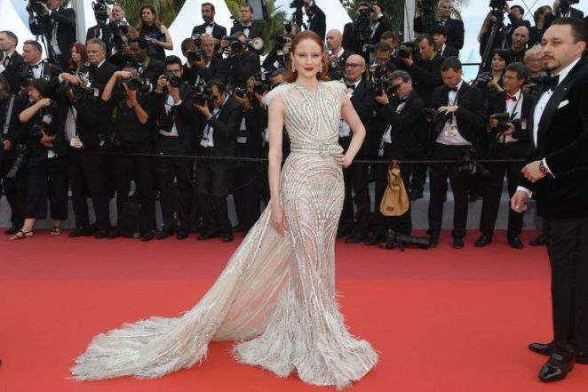 Cannes Film Festival, Cannes 2019, Red Carpet, Celebrity Style, Celebrity Fashion, Best Dressed, Cannes Best Dressed 2019, Best looks from Cannes, Model Style, Actress Style, Top Fashions at Cannes, French Riviera, Sarah In Style, Sarah Meyer, Elle Danning, Dakota Fanning, Elsa Hosk, Julianne Moore, Amber Heard, Helen Mirren