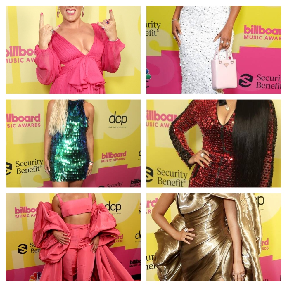 BBMA's 2021, 2021 BBMA's,Billboard Music Awards 2021, Best Dressed List, Celebrity Fashion, Celebs on the red carpet, Billboard Music Awards, Billboard Awards, 2021 Awards Shows, 2021 Red Carpet Fashion, 2021 Billboard Music Awards, Star style, Pink on the red carpet, H.E.R. on the red carpet, Gabrielle Union on the red carpet, Gabby Barrett on the red carpet, Alicia Keys on the Red Carpet, Tanya Rad on the red carpet, Blogger best dressed list, Sarah In Style, SarahInStyle.com
