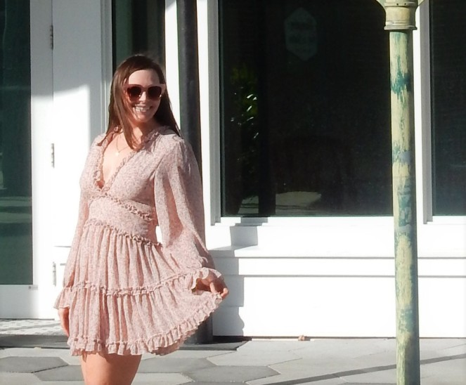 Sarah In Style, SarahInStyle.com, Sarah Meyer, Ybor City, Fashion is fun, Fun Fashion, Dressing for your Age, Fashion Evolution, How to evolve your style, cute fall dresses, ruffled dresses for adults, dresses to twirl in, pink sunglasses, easy fashion staples, who what wear, she wore what, fashion blogger tips, Chicago Fashion Blogger, Fashion styling tips, women's styling tips, midwest Fashion blogger, midwest fashion bloggers