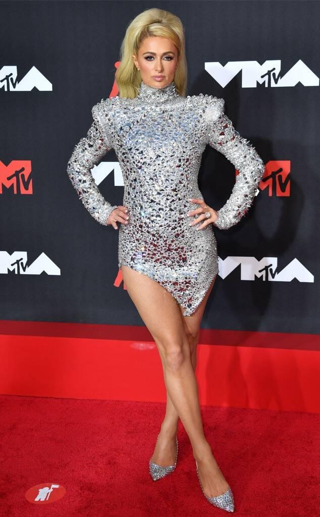 MTV Video Music Awards, MTV VMA's, MTV VMA's 2021, 2021 MTV Awards, 2021 MTV VMA's, VMA red carpet, red carpet fashion, celebrity style, celebrity fashion, red carpet best dressed, celebrity best dressed, VMA's best dressed, 2021 VMA's Best Dressed, Olivia Rodrigo, Paris Hilton, Shay Mitchell, Nessa from MTV, Nessa, outrageous celeb fashion, outrageous celebrity fashion, boy band reunion, Saweetie, Latto, Billy Porter